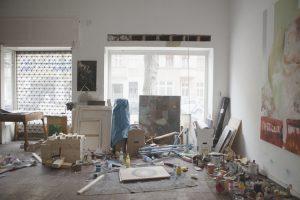 View of Jonas Hofrichter's studio. Photo Erika Svensson
