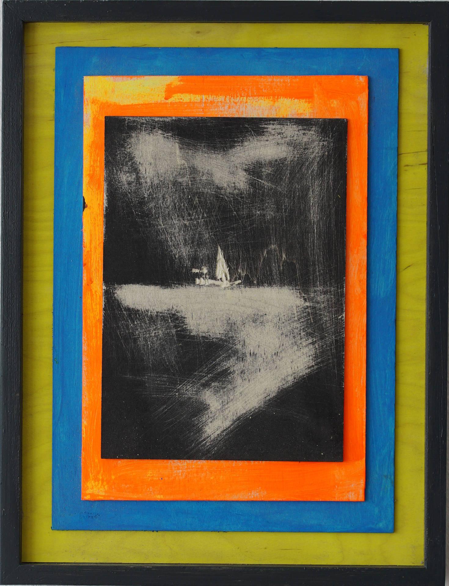 Auf dem Wasser (on the water) by Jonas Hofrichter, 2016