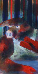 Schwein mit Zigarre und Gegenüber (pig with cigarr and opposite) by Jonas Hofrichter, 2013